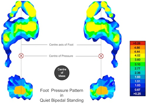 quitting sitting should barefoot standing  healthier pressure distribution