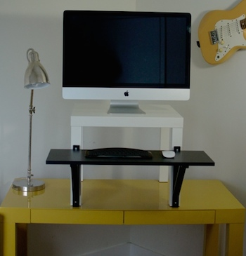 quitting sitting best standing desk options diy ikea