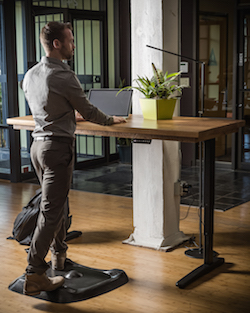 quitting sitting standing desk the new normal anti-fatigue mat best standing desk mat stander on topo