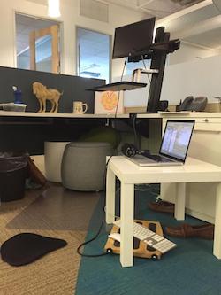 quitting sitting 5 free ergonomic office upgrades eye strain wrist pain keyboard angle