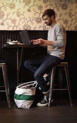 cafe ergonomics quitting sitting working healthy positions coffee shop accessories posture working remote laptop