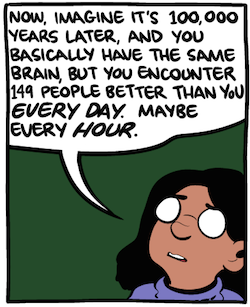 quitting sitting Facebook depression mental health productivity time wasting waster social media linked to unhappiness jealously curated life image comic excerpt smbc