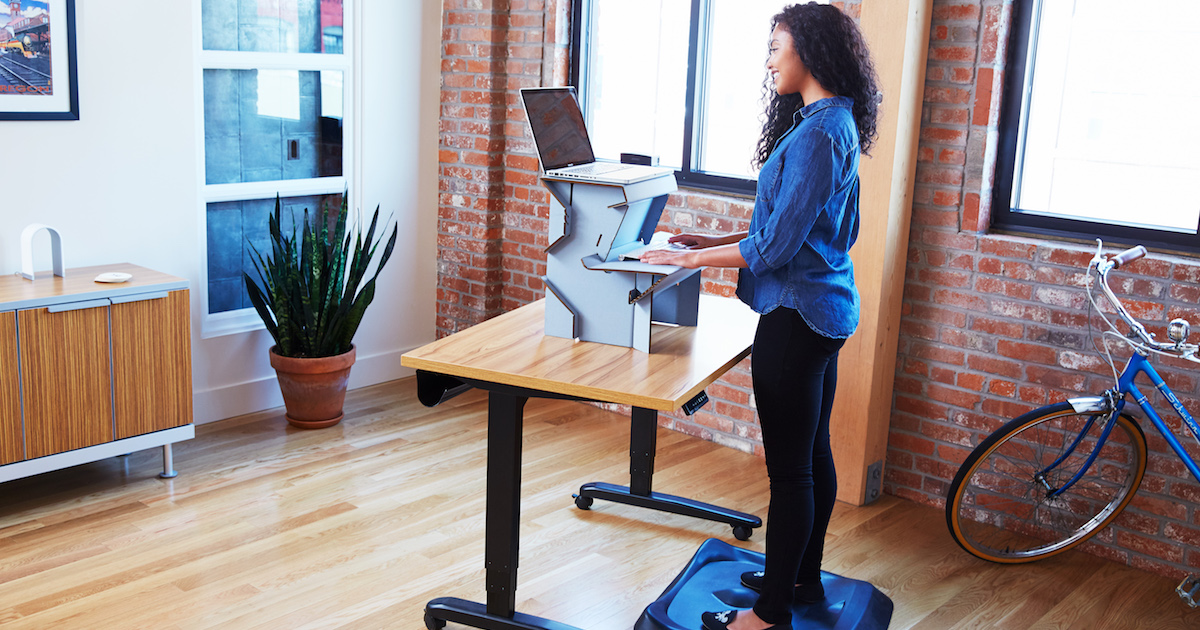 20 standing desk means no more ikea diy hacks quitting